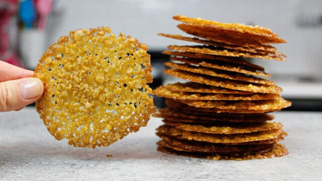 image of oatmeal lace cookies recipe