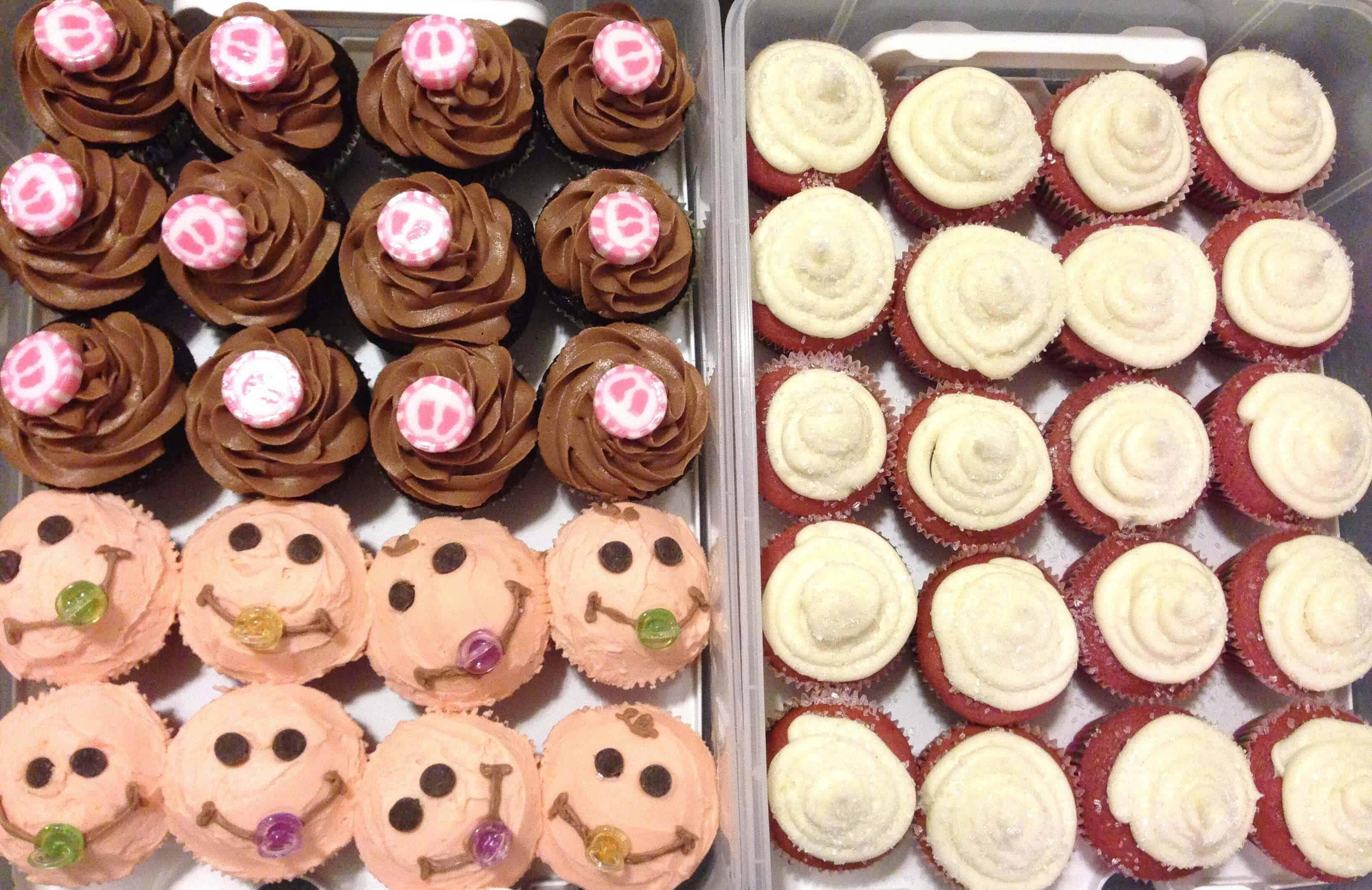 Spiksplinternieuw It's a GIRL!!! Baby Shower Cupcakes - Chelsweets DL-96