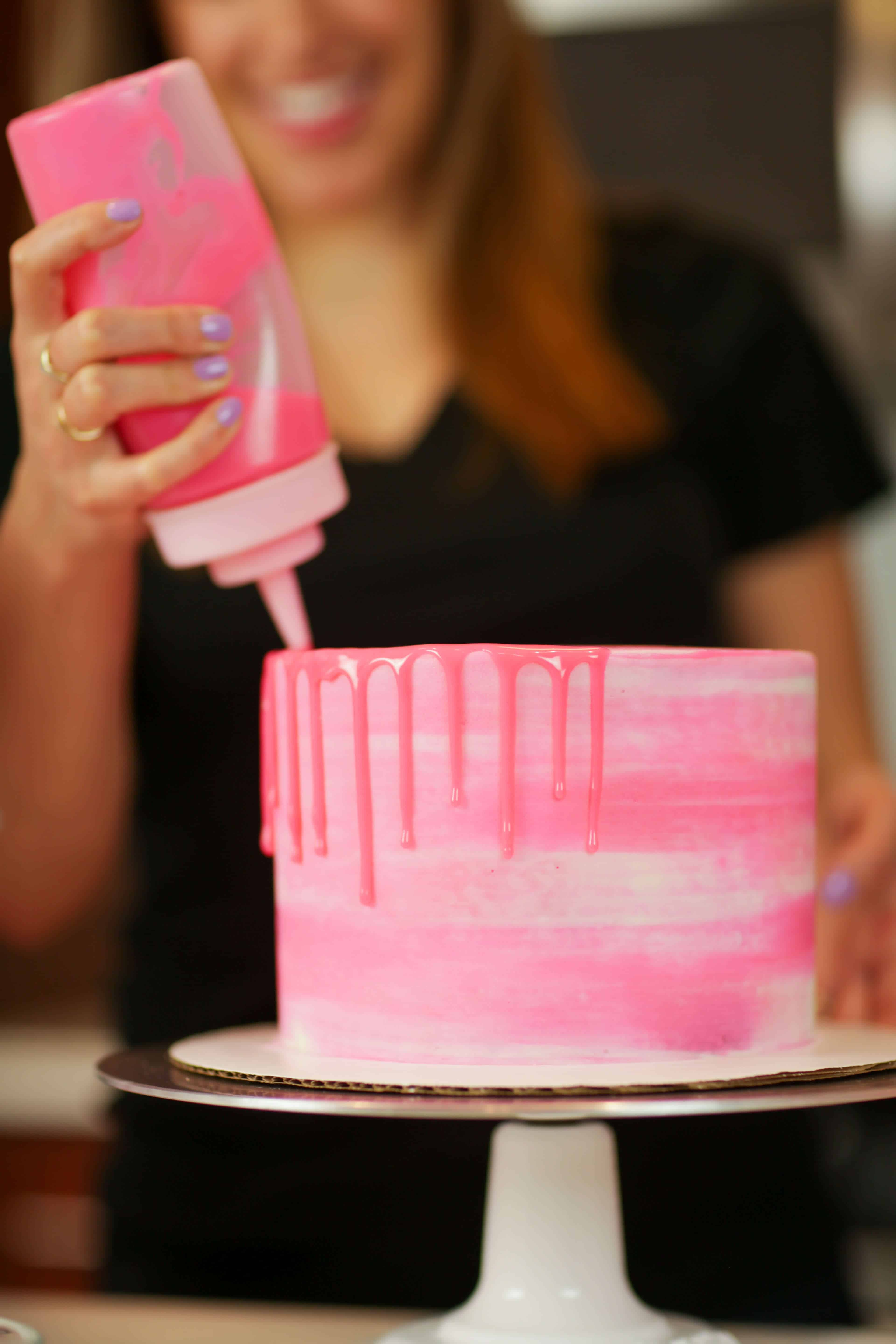 Colored Drips - Easy Two Ingredient Recipe & Tutorial