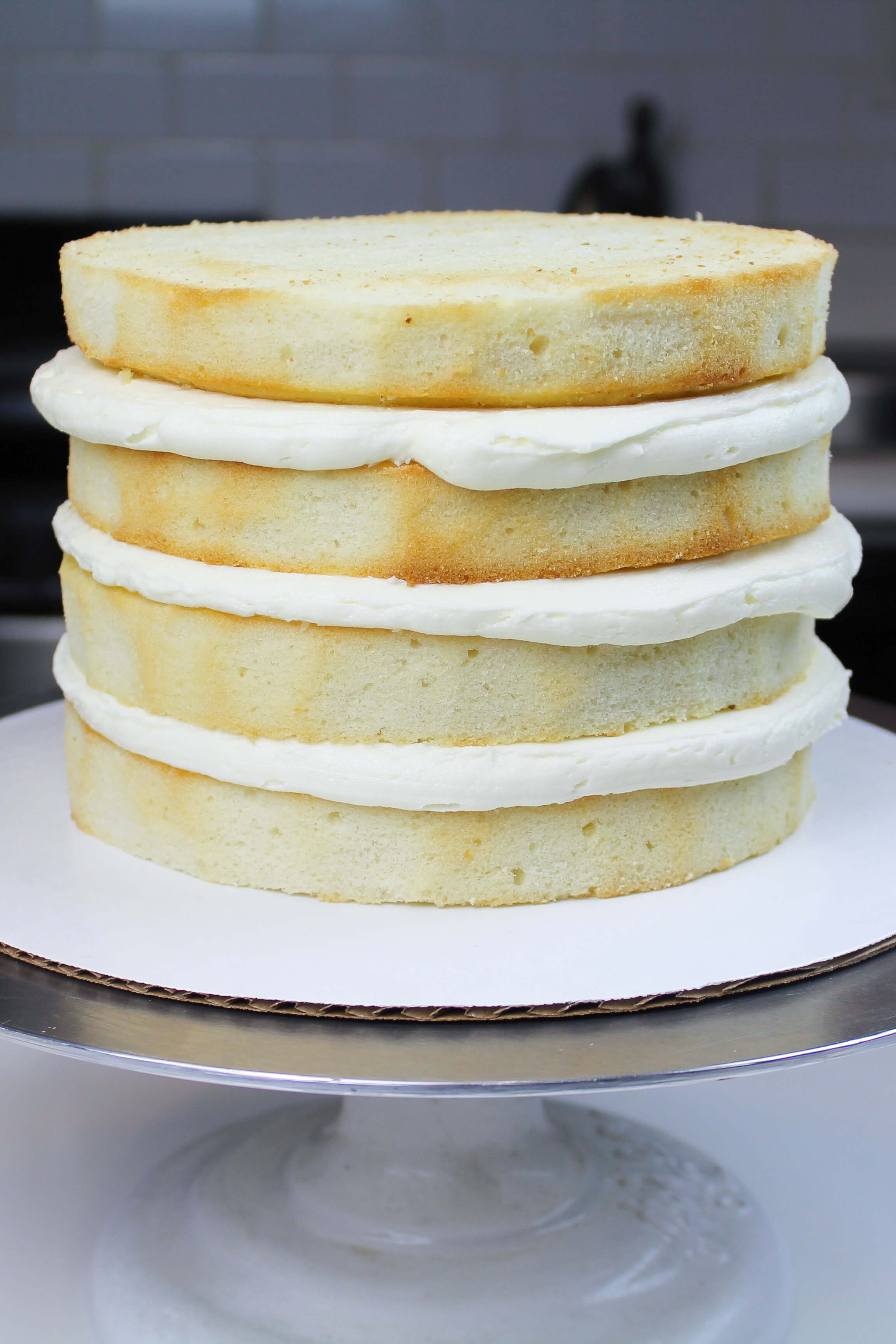 How To Make A Box Cake Taste Like A Wedding Cake.Best Vanilla Cake Recipe With Vanilla Buttercream Frosting Chelsweets