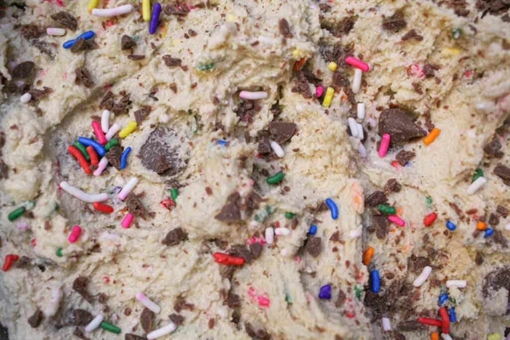 photo of edible cookie dough