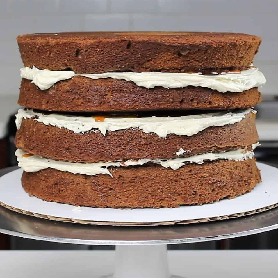 photo of chocolate layer cake recipe