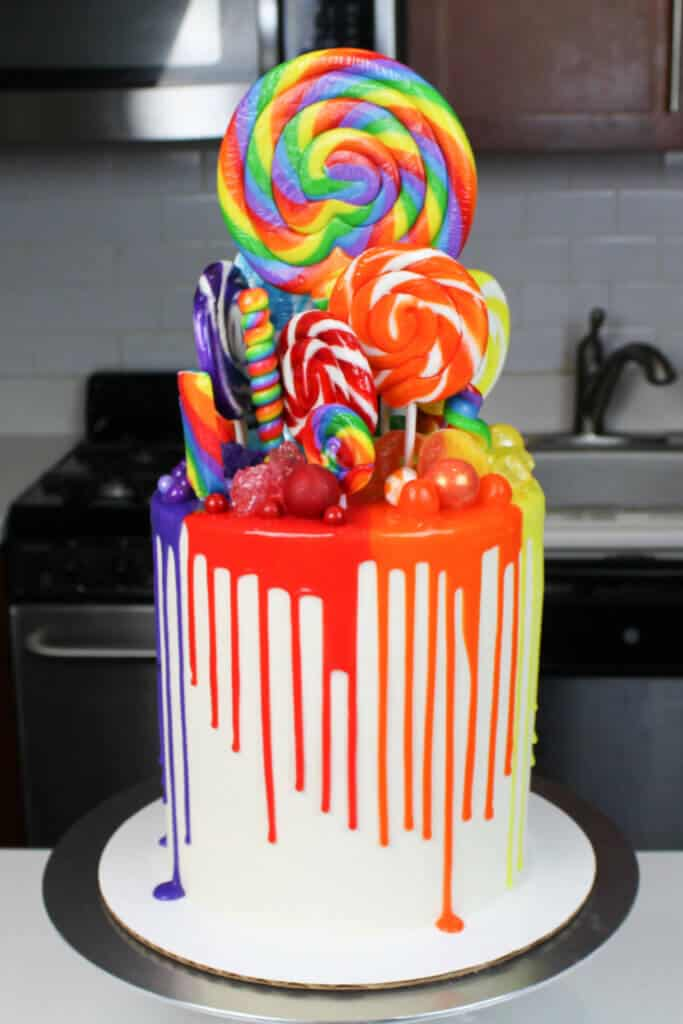 rainbow cake ideas photo