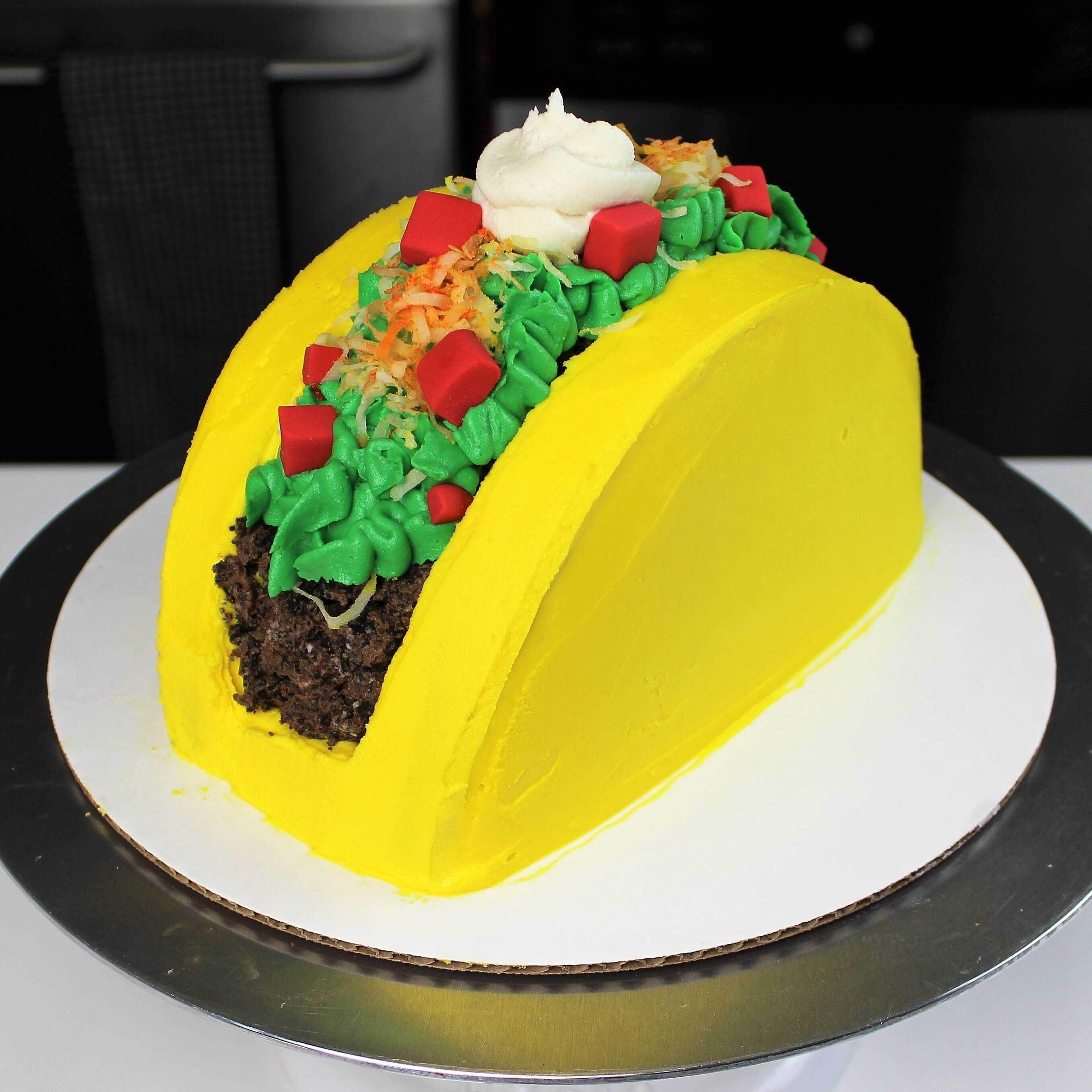 easy taco cake