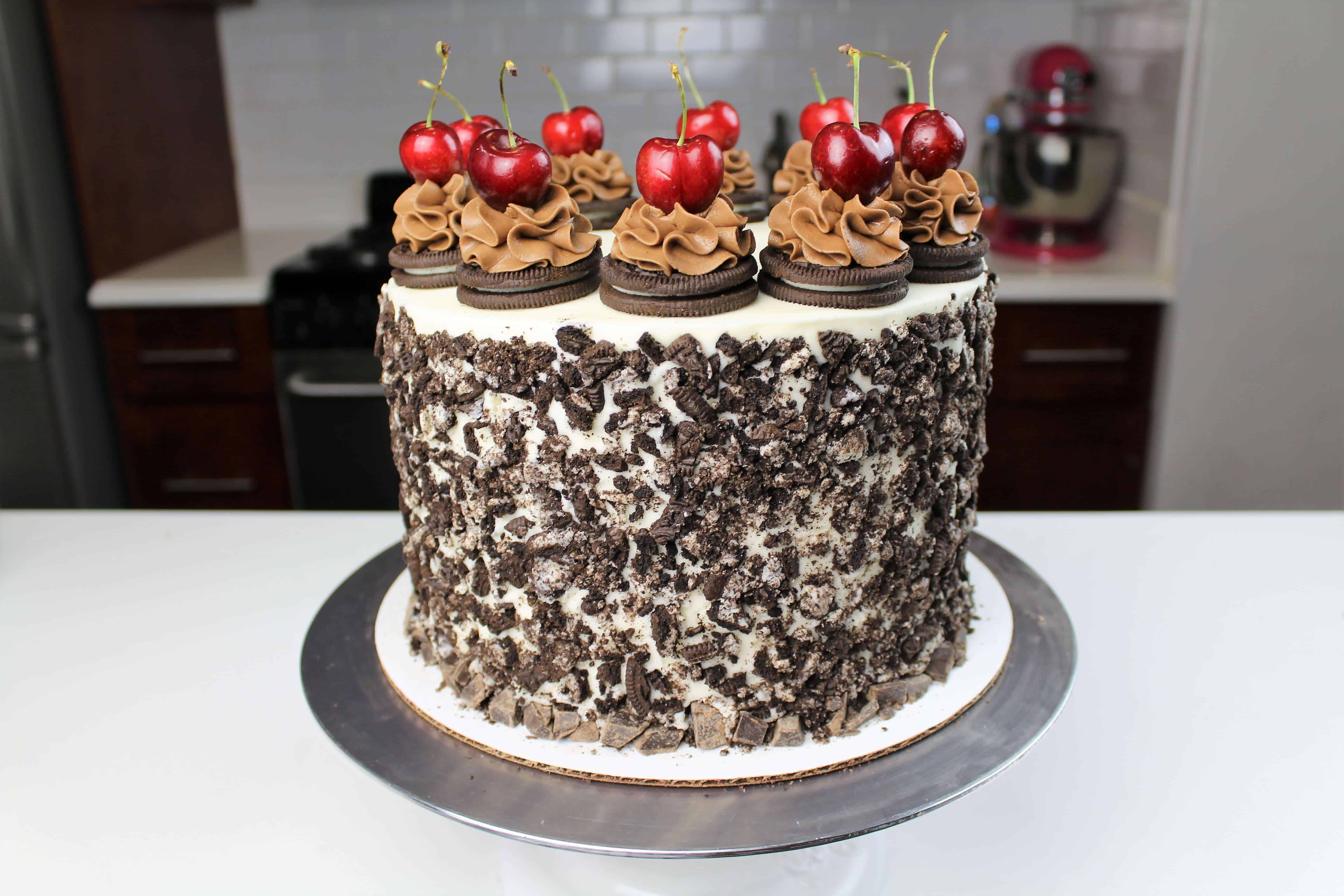 I Partnered With Oreo To Create This Black Forest Cake Its My Flavor Creation Idea For Their Latest Contest Made It Favorite