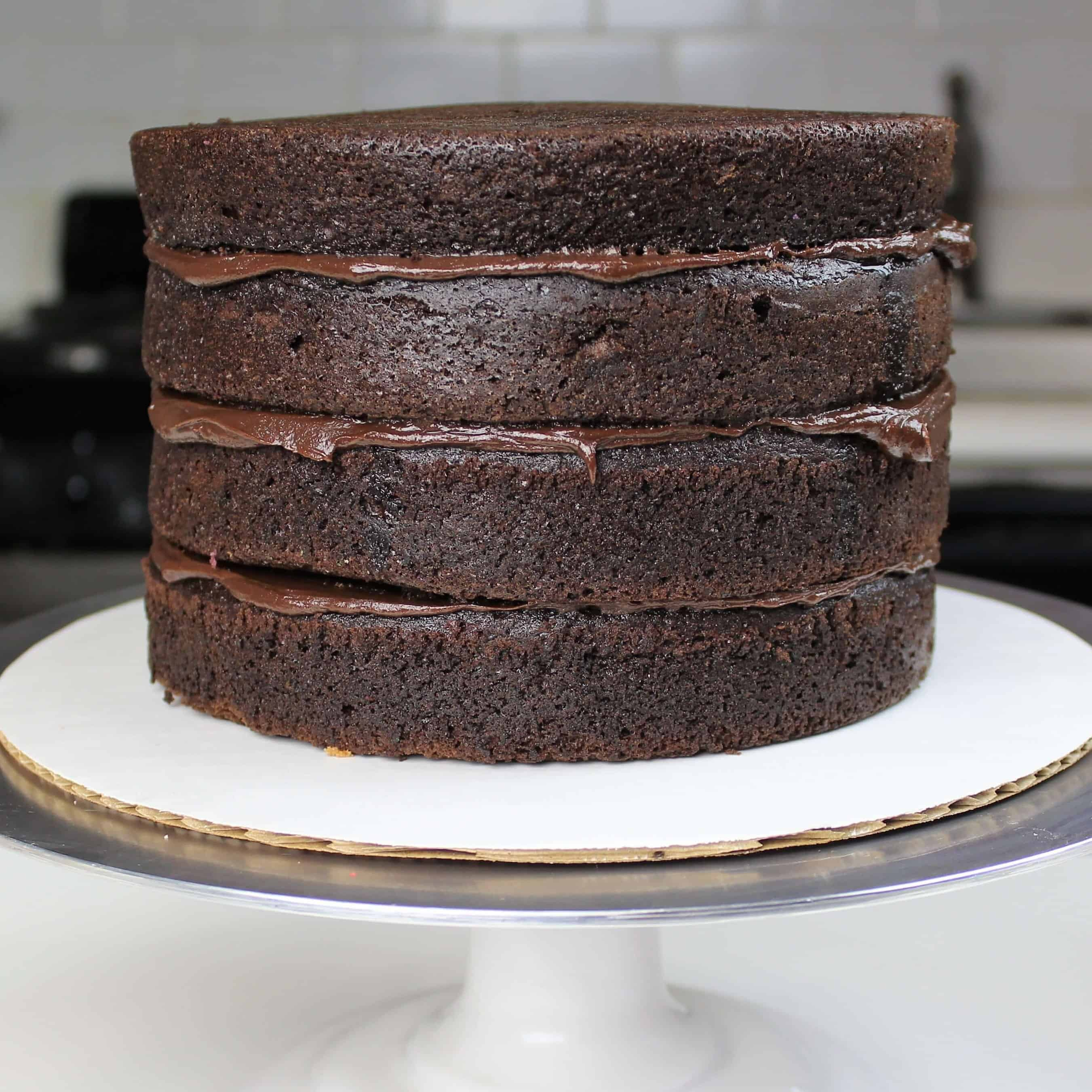 Photo of chocolate sponge cake recipe