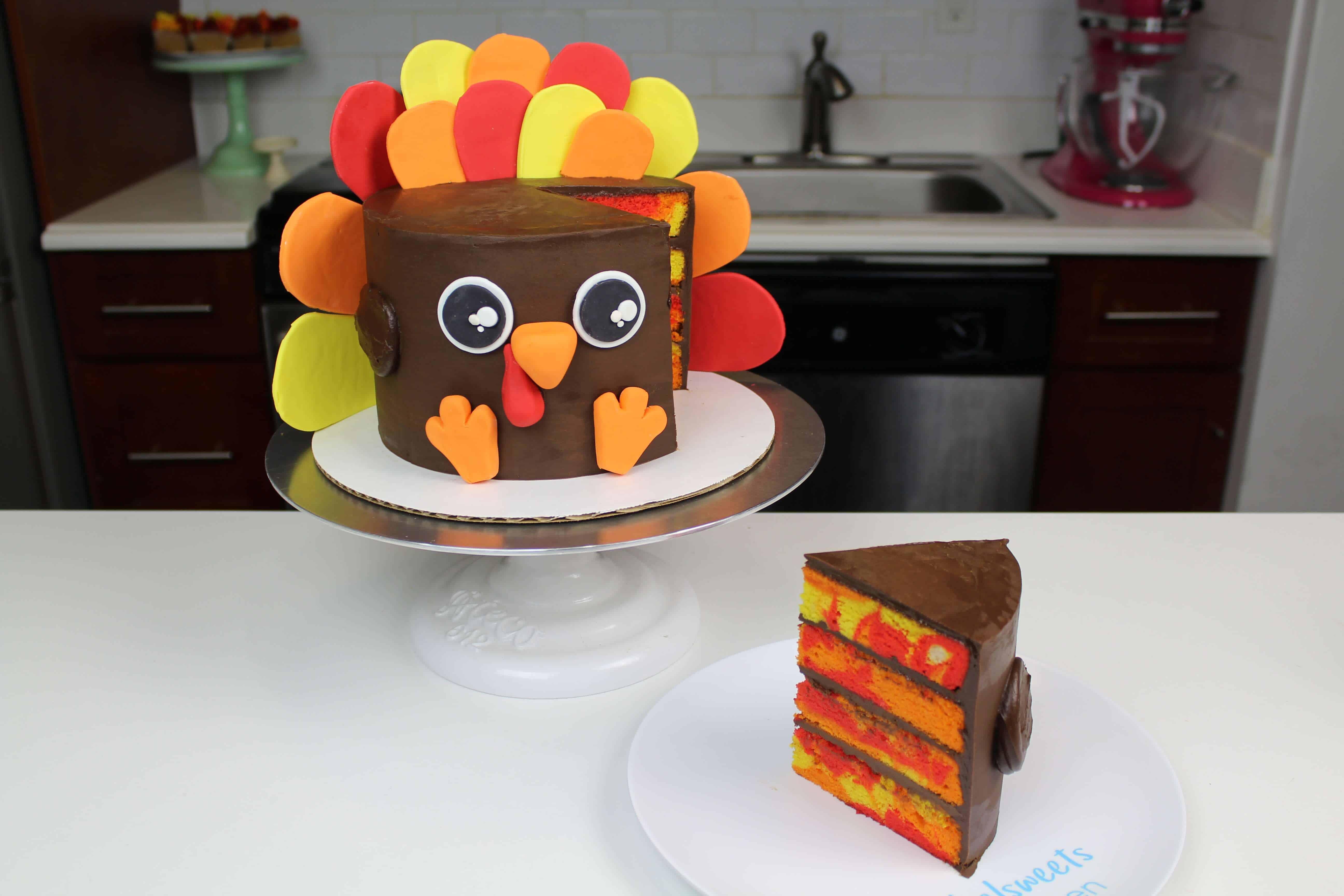 image of easy turkey cake