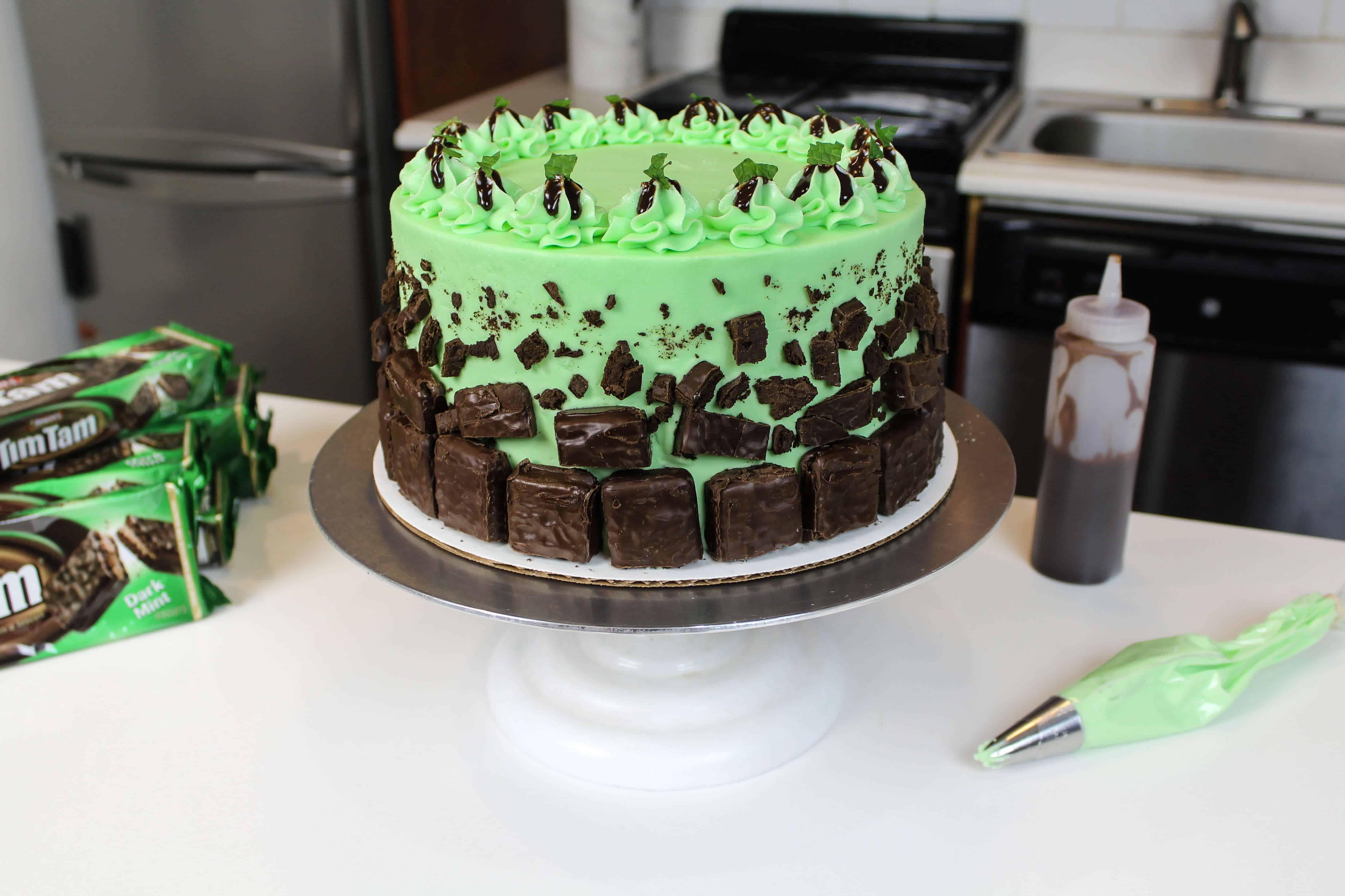 finished tim tam cake blog8
