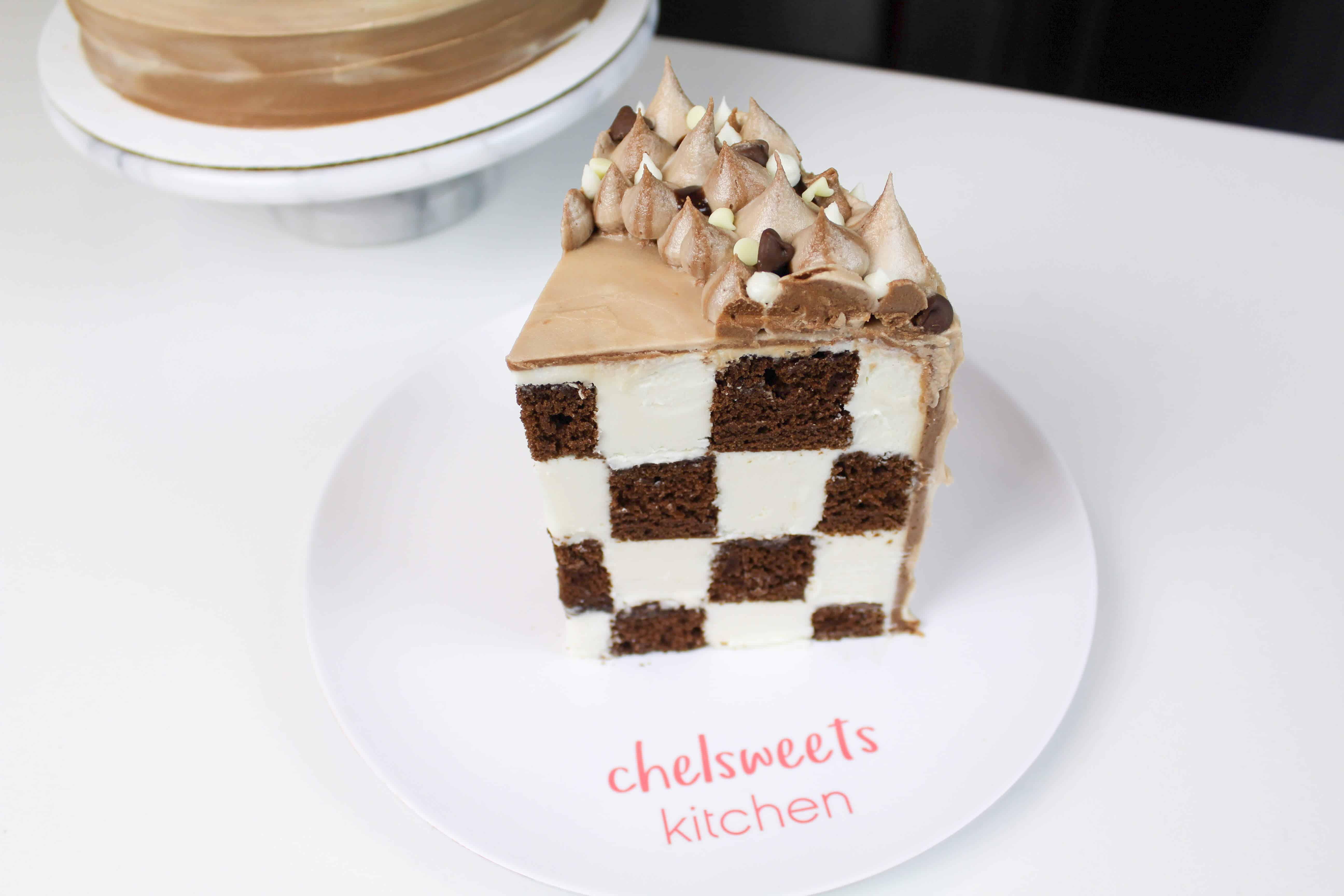 sliced checkerboard cake 5-2