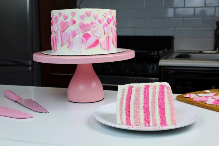 Pink Velvet Layer Cake Recipe