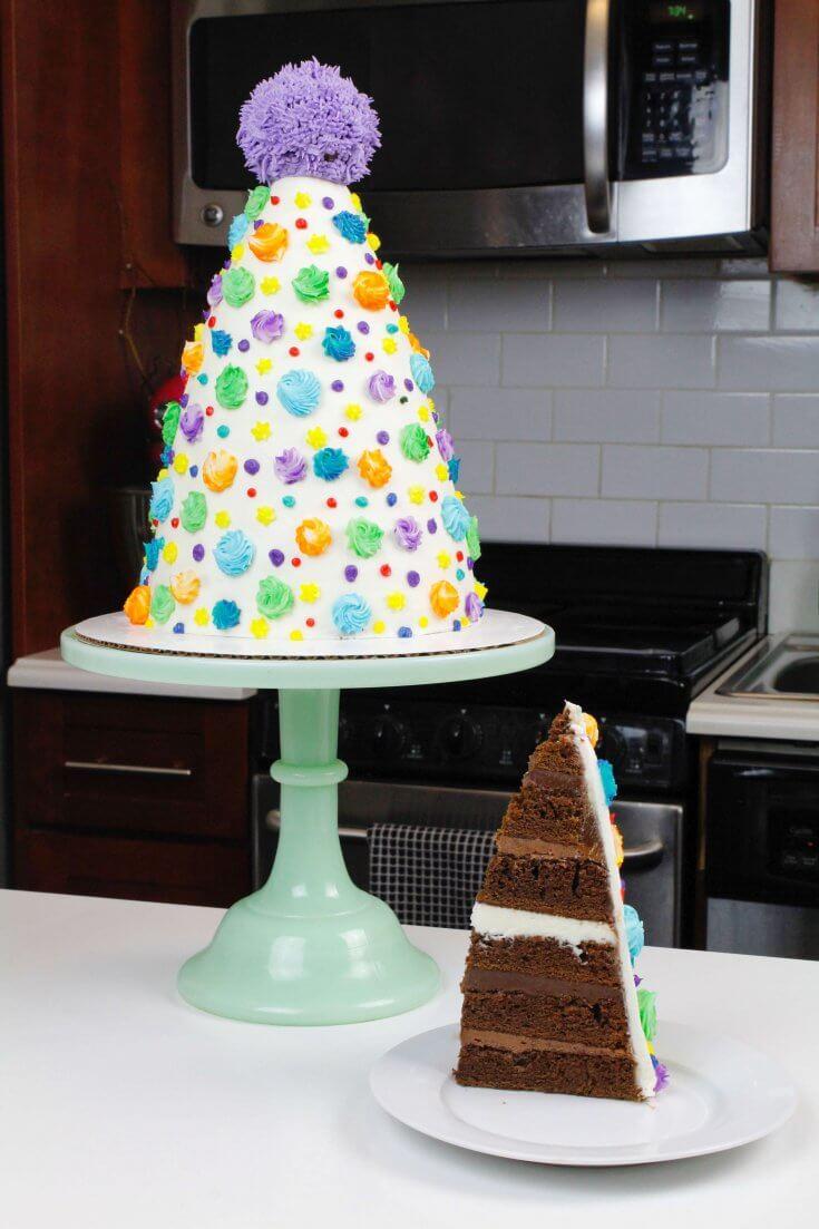 Birthday Party Hat Cake