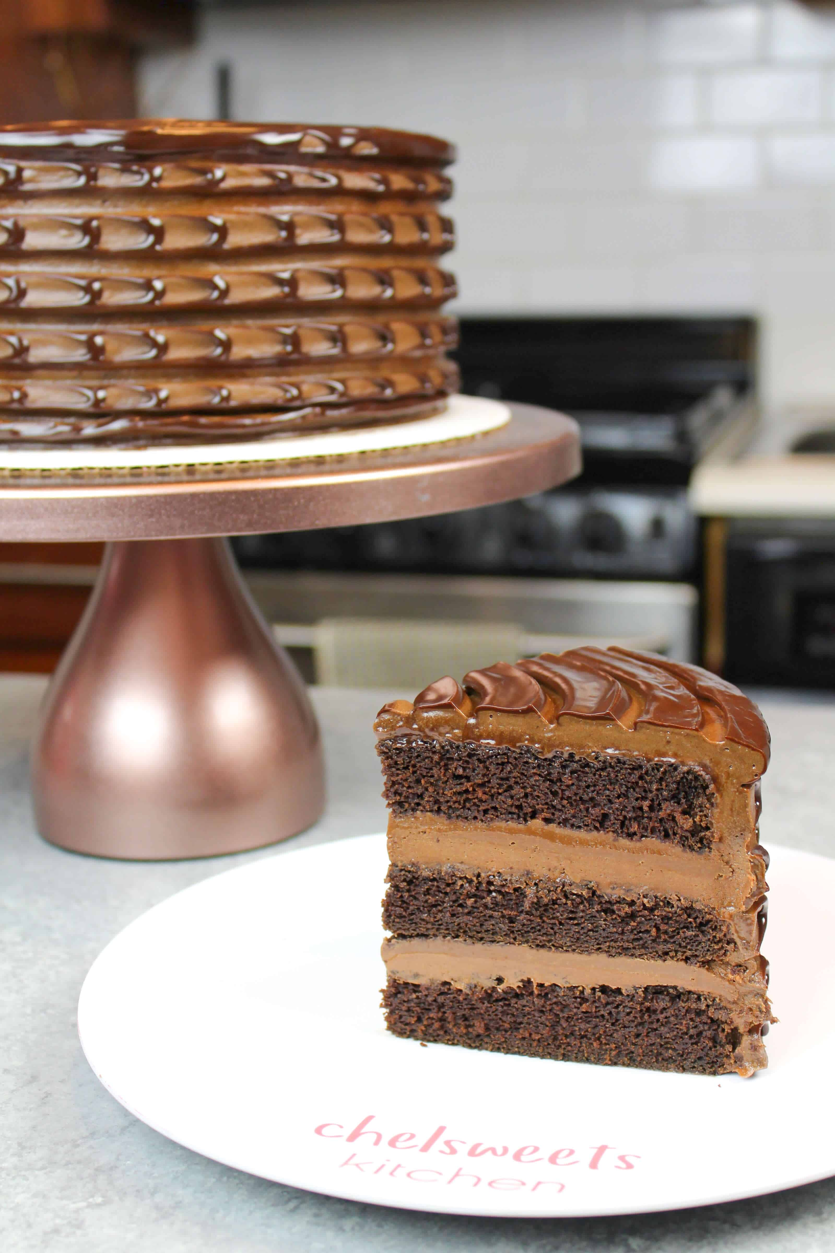 Image of Baileys Chocolate Cake Recipe