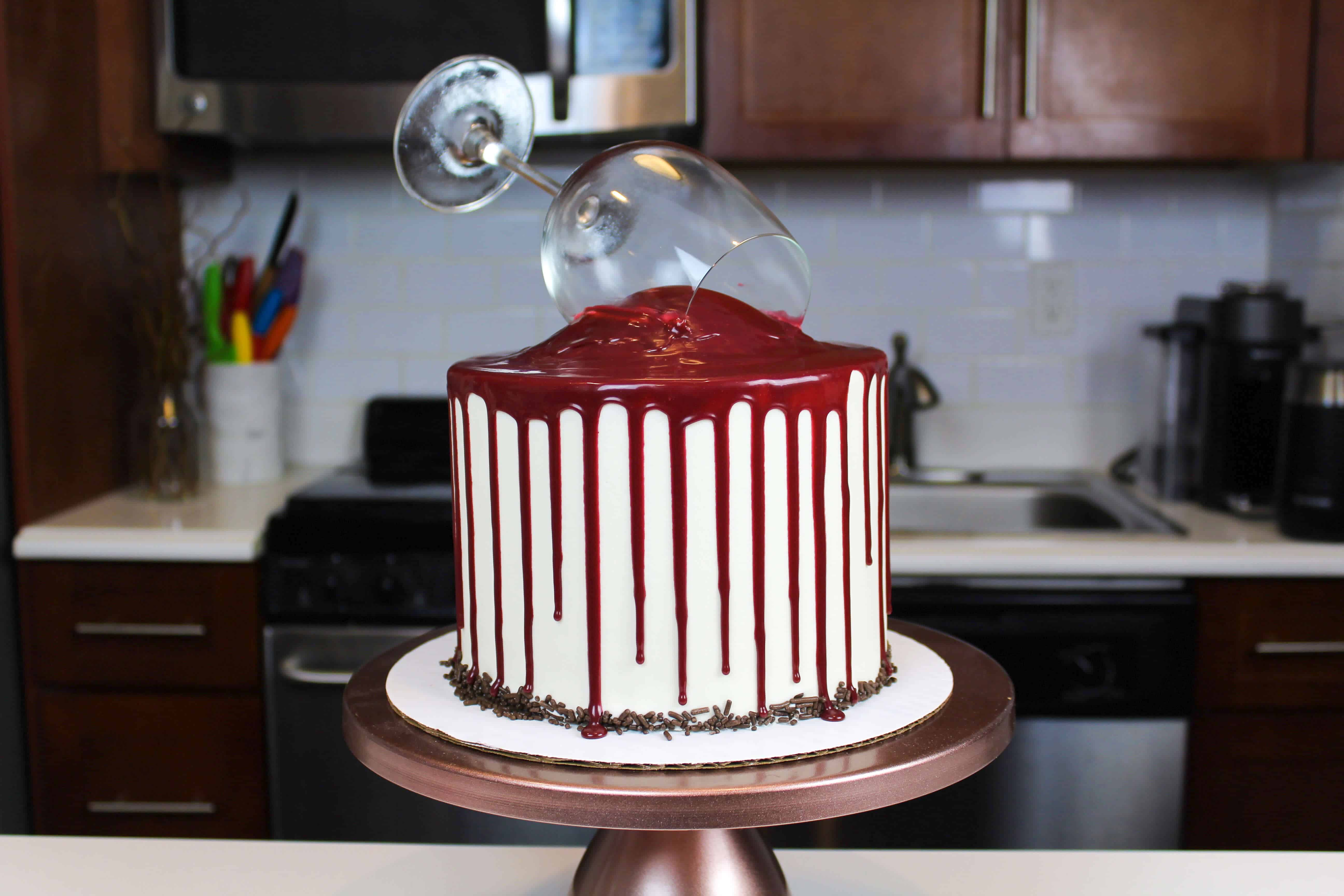Cool Red Wine Chocolate Cake Recipe A Winos Dream Cake Funny Birthday Cards Online Elaedamsfinfo