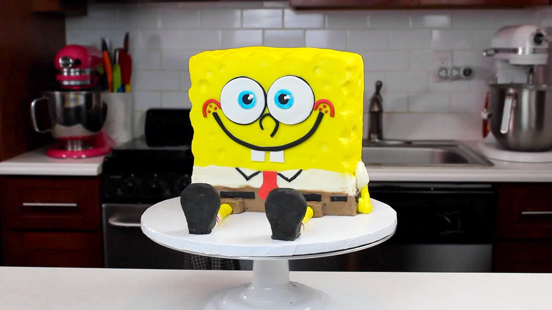 image of spongebob cake