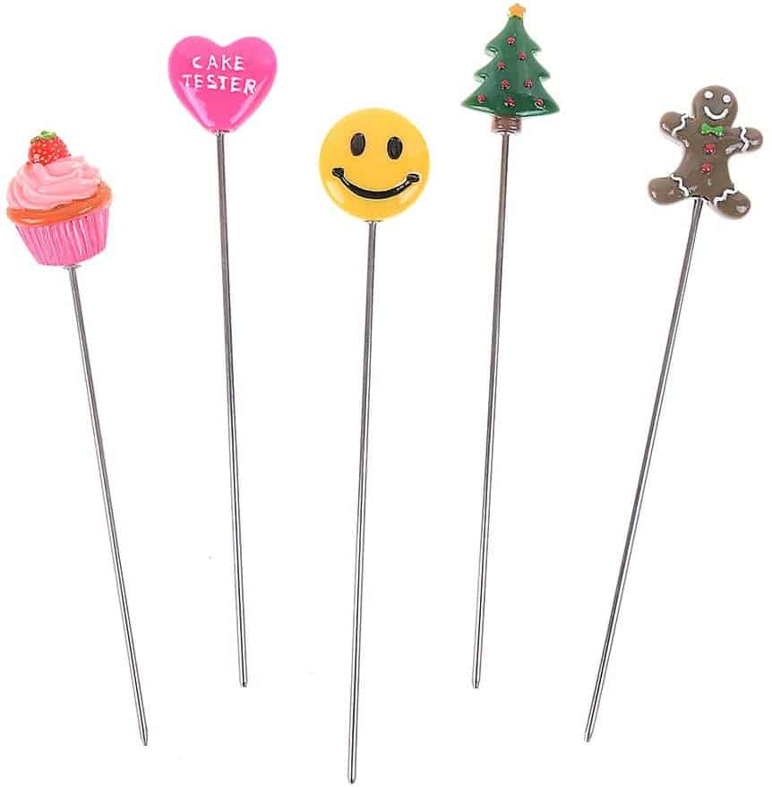 image of reusable cake testers included in a holiday baking gift guide