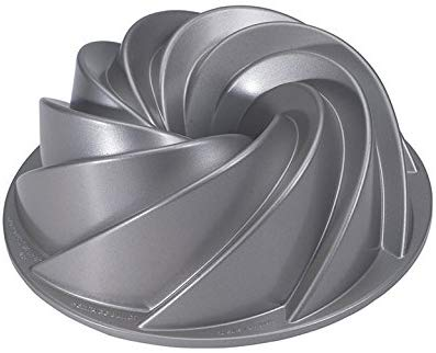 image of a fancy bundt pan included in a list of gifts for bakers