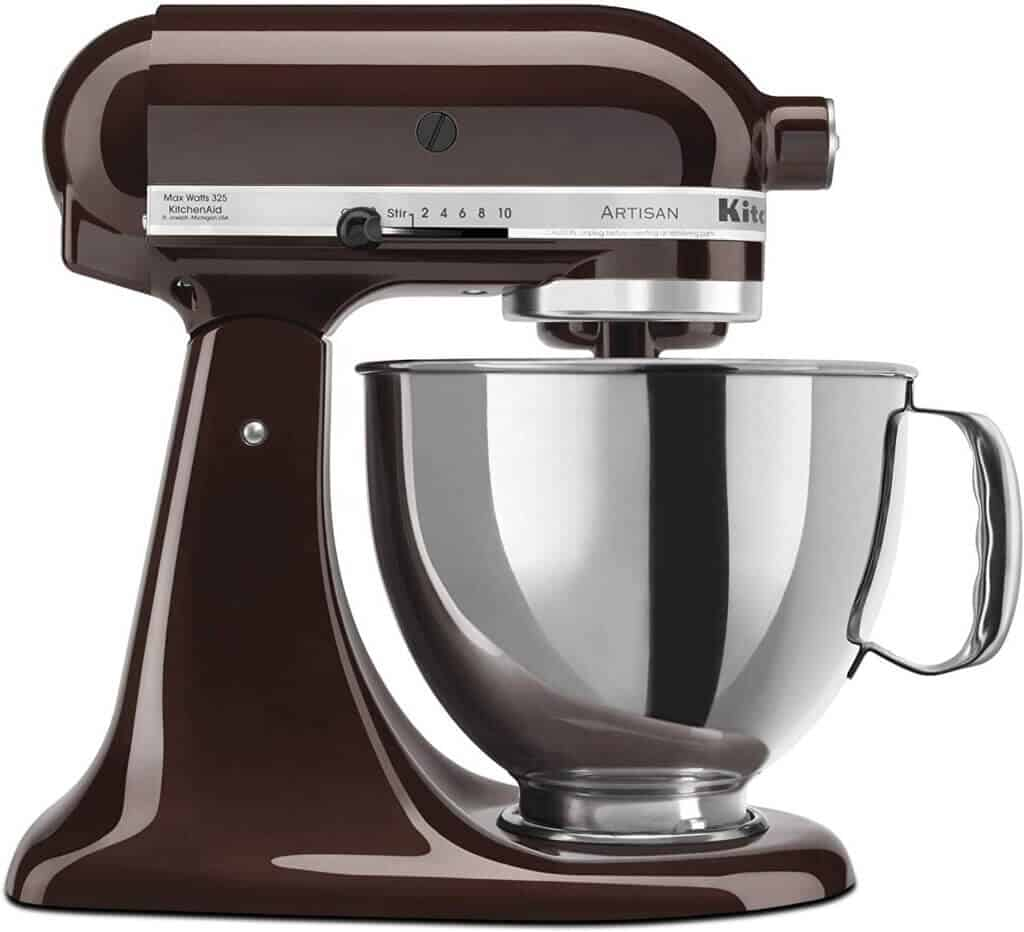 image of kitchen aid included as gift ideas for bakers