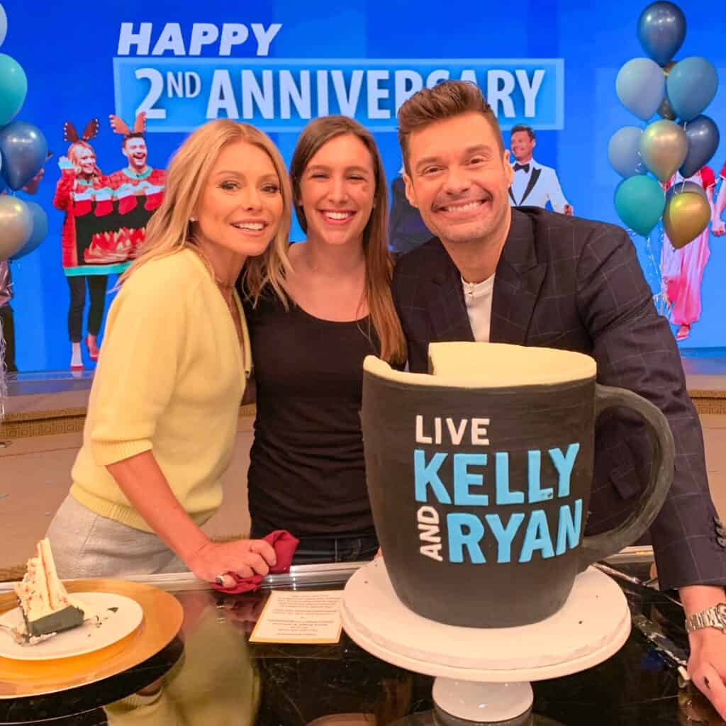 photo of chelsey white on Live with Kelly and Ryan