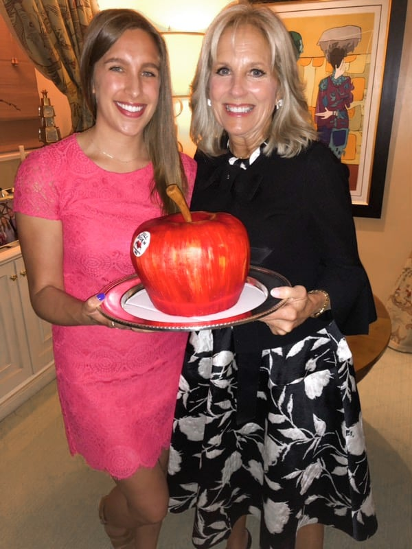 image of chelsey white with Jill Biden
