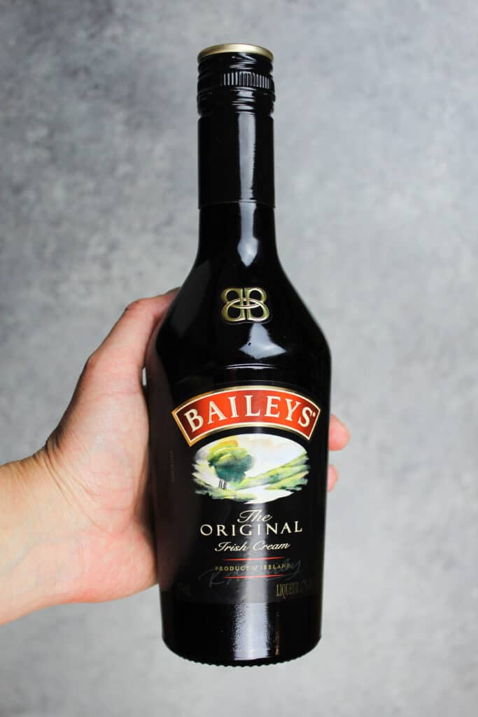 image of a bottle of baileys