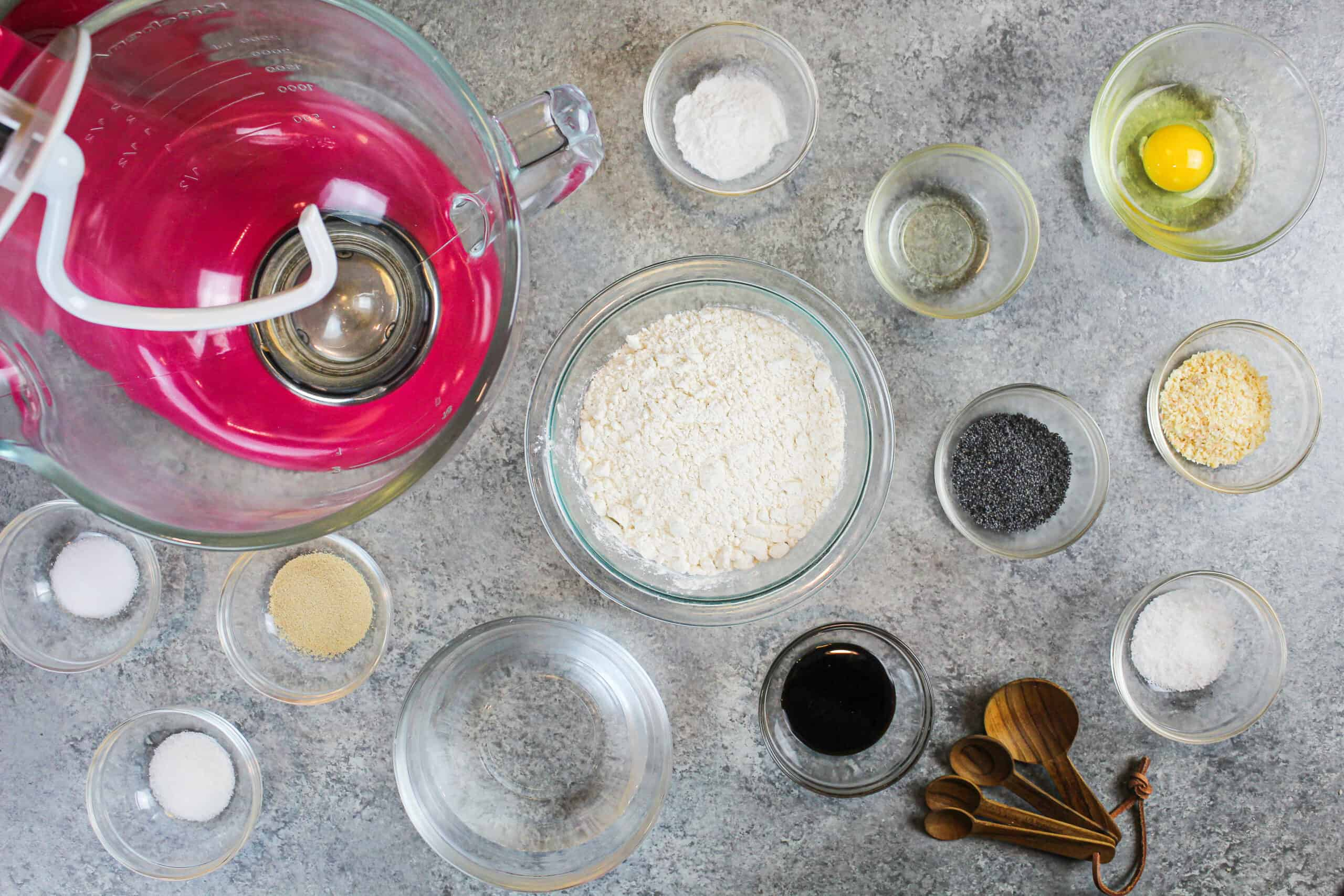image of batter being made with alternative ingredients from chelsweets baking substitutions guide