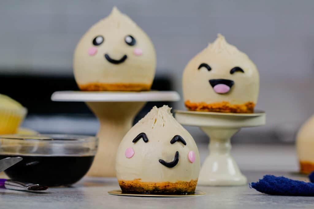 image of cute dumpling cupcakes