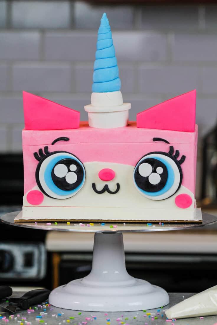 image of unikitty cake
