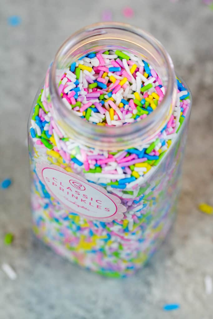 image of vegan sprinkles made by sweetapolita