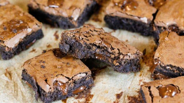 image of dairy free brownies