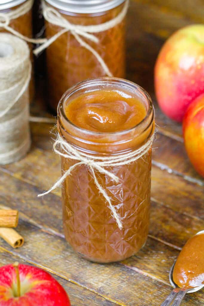 image of apple butter made in an instant pot