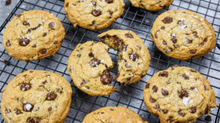 image of cream cheese chocolate chip cookies